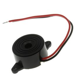 Piezoelektrický měnič 85dB 12VDC 12mA 3.3KHz Loudity LD-BZPG-2312
