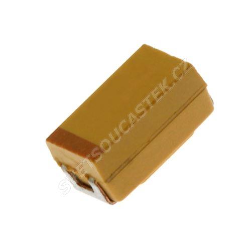 Tantalový kondenzátor SMD CTS 10uF/25V C 10% AVX TAJC106K025RNJ