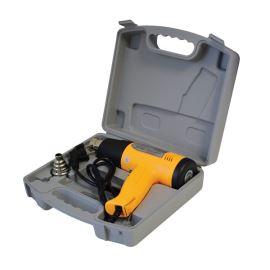 Horkovzdušná pistole s regulací teploty 1500W v kufříku Zhongdi ZD-509