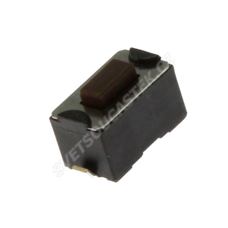 Mikrospínač do DPS spínací 1-pólový OFF-(ON) 0.05A 12V Diptronics DTSM31N