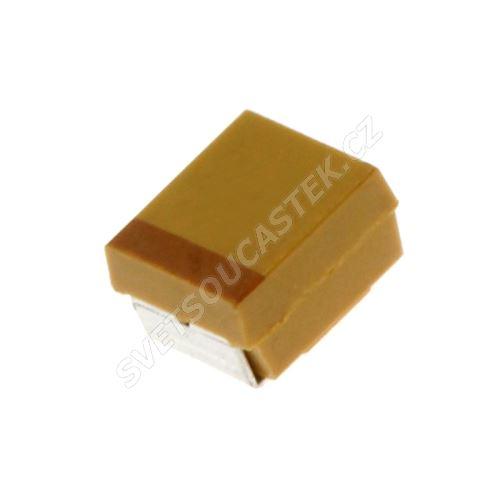 Tantalový kondenzátor SMD CTS 47uF6.3V B 10% Kemet T491B476K006AT