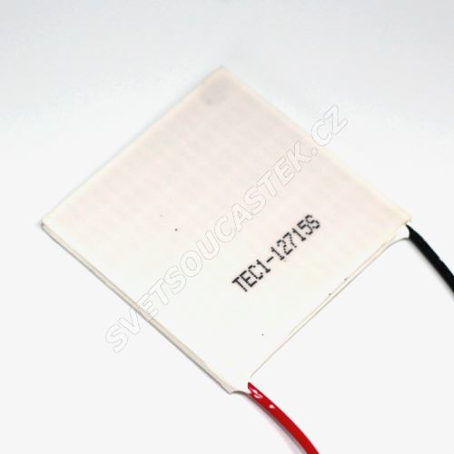 Peltierův článek 150W 50x50mm Hebei TEC1-12715S