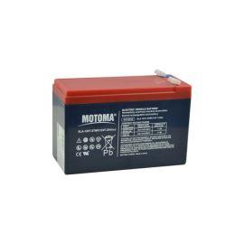Olověný akumulátor 12V 7,2Ah MOTOMA pro elektromotory (bezúdržbový akumulátor)