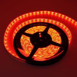 LED pásek červená délka 1 metr, SMD 3528, 60LED/m - vodotěsný (silikagel) - IP65 STRF 3528-60-R-IP65