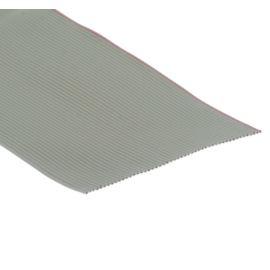 Plochý kábel AWG28 60 žil licna rozteč 1,27mm PVC šedá farba