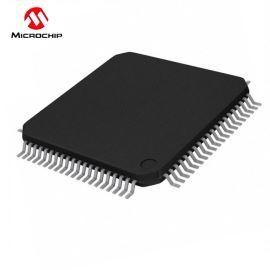 8-Bit MCU 4.2-5.5V 128kB Flash 40MHz TQFP80 Microchip PIC18F8723-I/PT