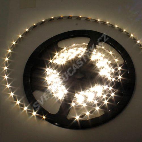 LED pásek přírodní bílá délka 1 metr, SMD 335 (boční), 60LED/m - vodotěsný STRF 335-60-NW-IP65