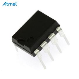 8-Bit MCU AVR 2.7-5.5V 4kB Flash 20MHz DIP8 Atmel ATTINY45-20PU