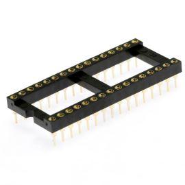 Precizní patice pro IO 32 pinů široká DIL32 Xinya 126-6-32RG