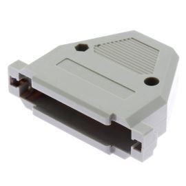 Kryt konektoru CANON 37 pinů plastový šedý Xinya 158-37 P GT