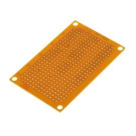 Univerzální plošný spoj 72x47x1,6mm vrtaný RM 2.54 kulaté body SCI PC-3