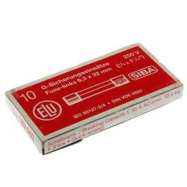 Trubičková pojistka F (rychlá) SIBA 189000-1 A