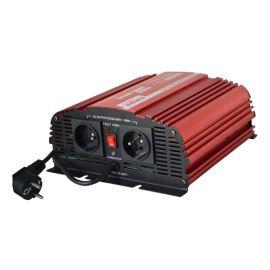 Měnič napětí 12V/230V 600W CZ (čistý sinus) UPS+ nabíječka CARSPA