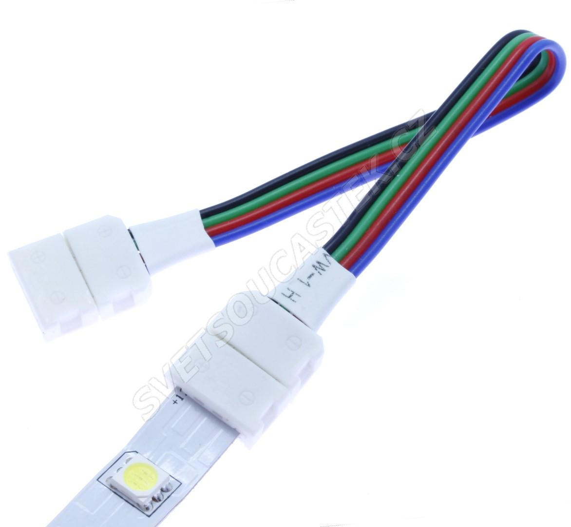 Propojovací kablík pro 10mm LED pásky - Hebei 10mm Connector 122400007