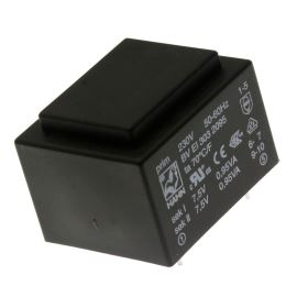 Trasnformátor do DPS 1.9VA/230V 2x7.5V Hahn BV EI 303 2095