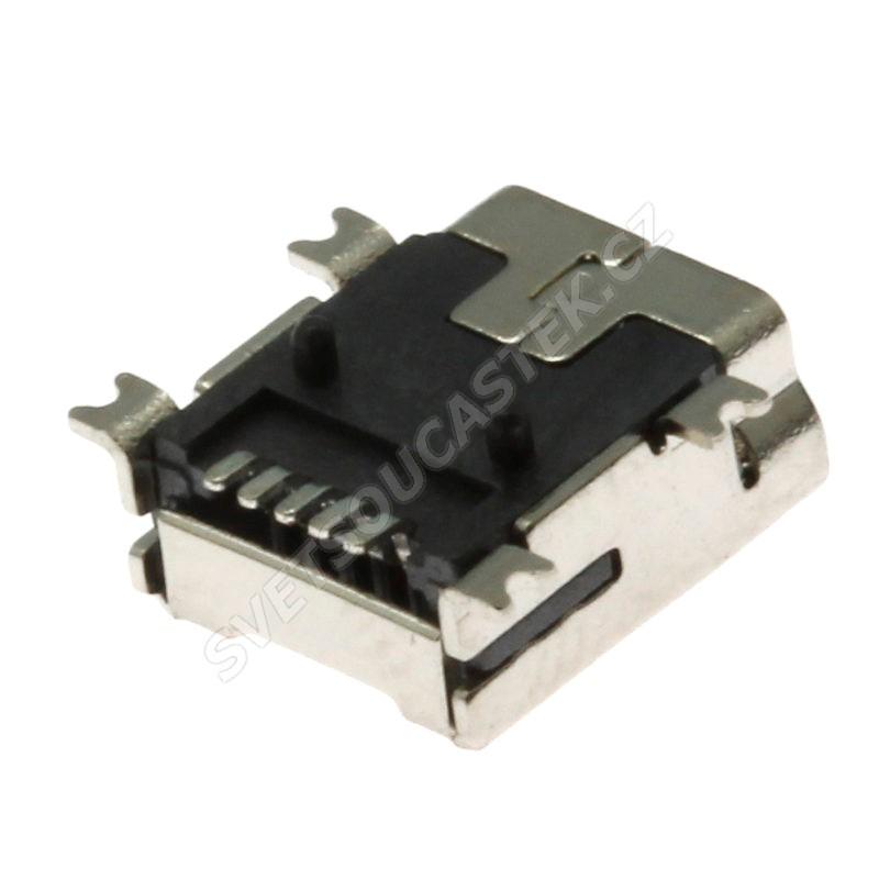 Konektor USB mini B zásuvka do DPS Xinya 175