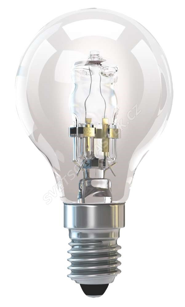 Halogenová žárovka ECO 42W E14/230V MINI GLOBE P45 Emos