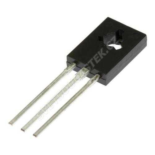 Tranzistor bipolárny PNP 80V 1.5A THT TO126 12.5W BD140-10