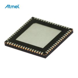 8-Bit MCU AVR USB 2.7-5.5V 64K-Flash 20MHz MLF64 Atmel AT90USB646-MU