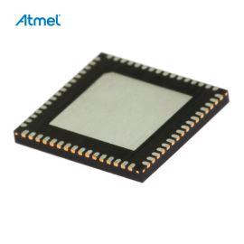 8-Bit MCU AVR 4.5-5.5V 128kB Flash 16MHz MLF64 Atmel ATMEGA128-16MU