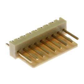 Konektor se zámkem 9 pinů (1x9) do DPS RM2.54mm přímý pozlacený Xinya 137-09 S G