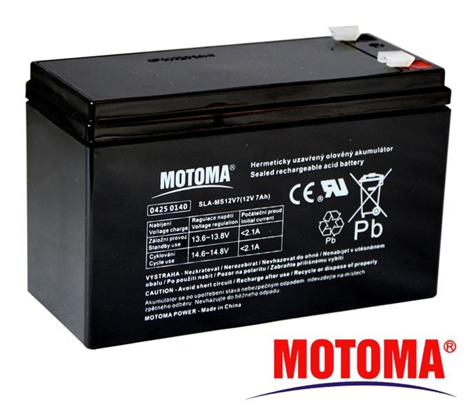MOTOMA Baterie olověná 12V / 7Ah