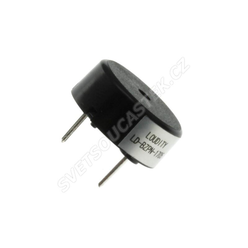 Piezoelektrický měnič 78dB 5VAC 1mA 4KHz Loudity LD-BZPN-1705
