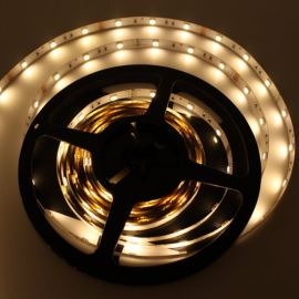 LED pásek teplá bílá délka 1 metr, SMD 2835, 60LED/m (balení 5m) - vodotěsný STRF 2835-60-WW-IP65
