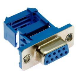 Konektor CANON samořezný 9 pinů zásuvka na kabel přímá Xinya 103-09 S M B 2