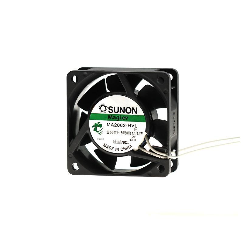 Levně Ventilátor 60x60x25mm 230v ac/198ma 30db sunon ma2062-hvl