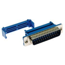 Konektor CANON samořezný 25 pinů vidlice na kabel přímá Xinya 103-25 P M B 1