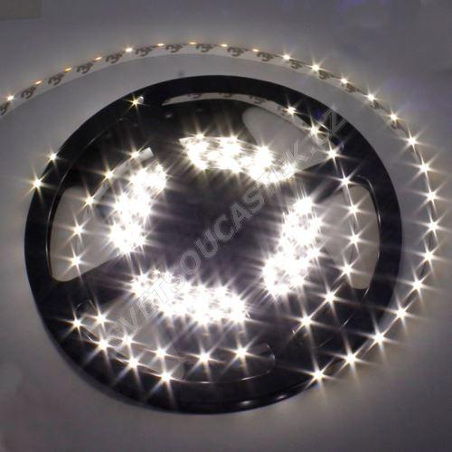 LED pásek studená bílá délka 1 metr, SMD 335 (boční), 60LED/m - vodotěsný STRF 335-60-CW-IP65