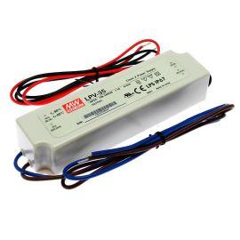 Napájecí zdroj pro LED pásky 35W 24V/1.5A IP67 Mean Well LPV-35-24
