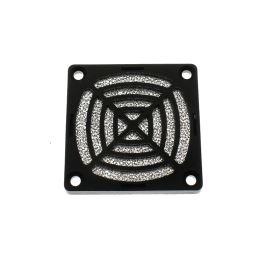 Ochranná plastová mřížka s filtrem pro ventilátory 60x60mm SUNON 06D-1