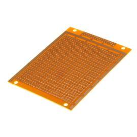 Univerzální plošný spoj 95x72x1,6mm vrtaný RM 2.54 kulaté body SCI PC-12