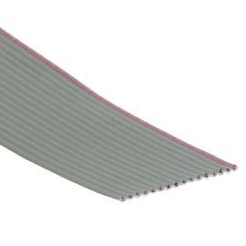 Plochý kábel AWG28 16 žil licna rozteč 1,27mm PVC šedá farba