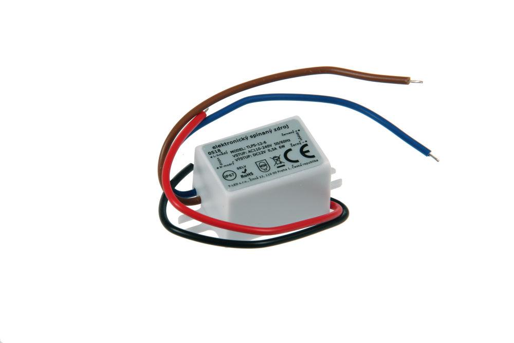 Napájecí zdroj pro LED pásky TLPS-12-6