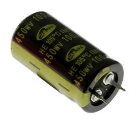 Elektrolytický kondenzátor Snap-in E 100uF/450V 22x40 RM10 105°C Samwha HE2W107M22040HA