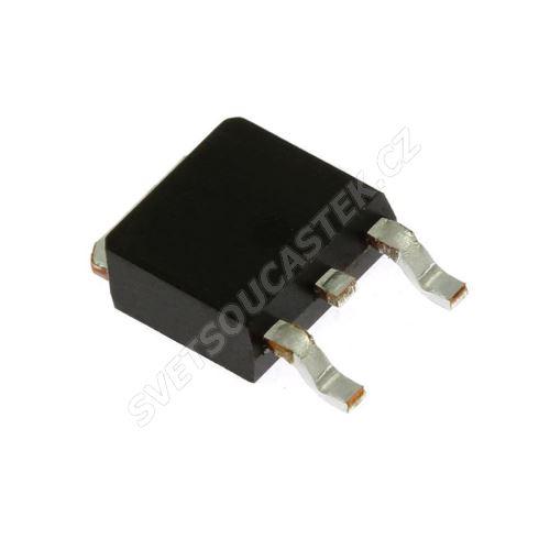 Tranzistor MOSFET P-kanál 55V 28A SMD DPAK IRF IRLR2705TRPBF