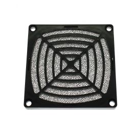 Ochranná plastová mriežka s filtrom pre ventilátory 80x80mm SUNON 08D-1