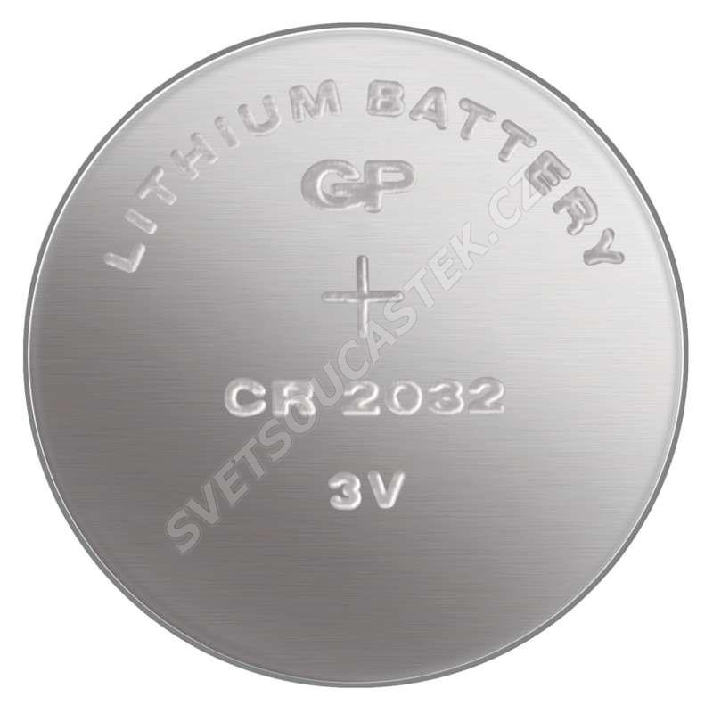 Lítiová gombíková batéria GP CR2032