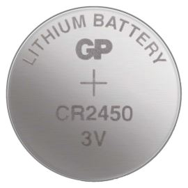 Lithiová knoflíková baterie GP CR2450
