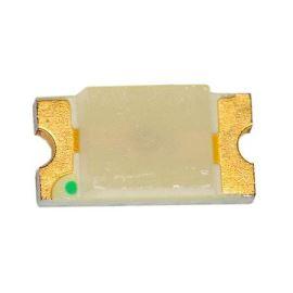 LED SMD vel. 1206 zelená 50mcd/130° Hebei 1206KGCT