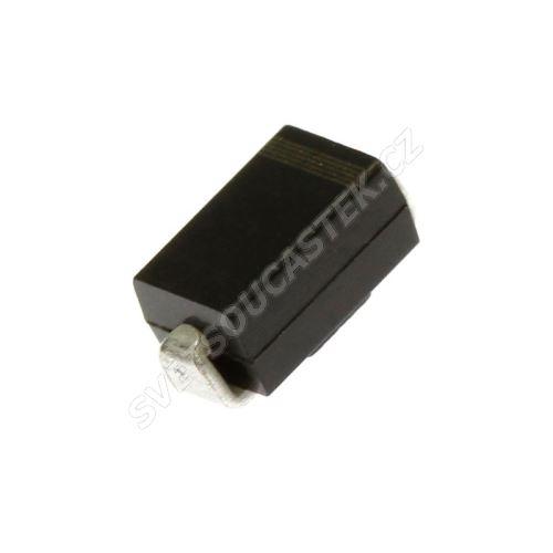 Usměrňovací dioda 1000V 1A  SMA Diotec S1M