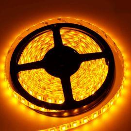 LED pásek žlutá délka 1 metr, SMD 5050, 60LED/m - vodotěsný (silikagel) - IP65 STRF 5050-60-Y-IP65