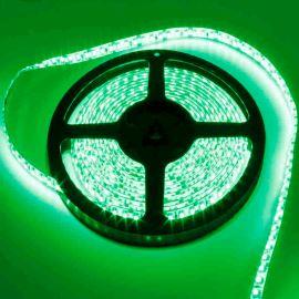 LED pásek zelená délka 1 metr, SMD 3528, 120LED/m - vodotěsný IP65 STRF 3528-120-G-IP65