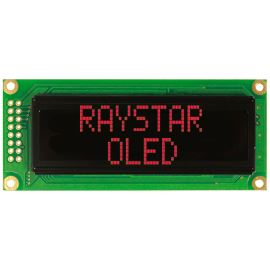 Alfanumerický OLED displej Raystar REC001602CRPP5N00000