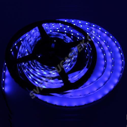 LED pásek modrá délka 1 metr, SMD 3528, 60LED/m - nevodotěsný STRF 3528-60-B