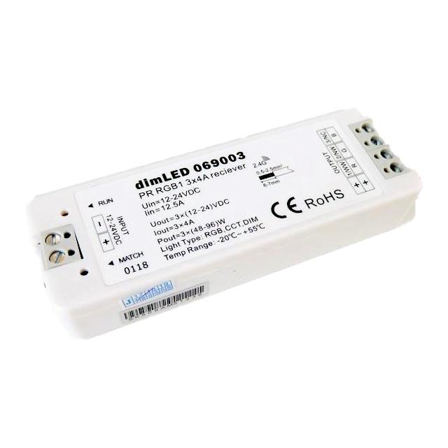 T-LED Přijímač dimLED PR RGB1 069003