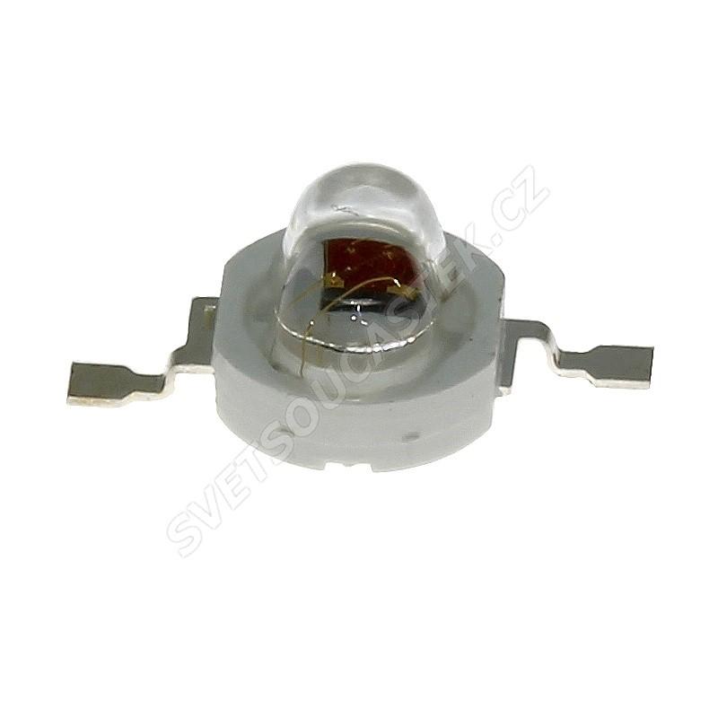 LED 1W oválná zelená 70lm/(160/100°) Hebei E12LG2C-O